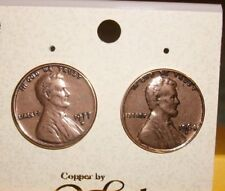 Solid Copper Penny Post Earrings  NWT Made in USA