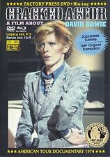 DAVID BOWIE / CRACKED ACTOR 1974 EXTREME EDITION / 1 DVD + 1 Blu Ray R (NEW)