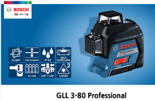 Bosch GLL3-80 Professional Set 3x360-deg Self Leveling Line Laser 30Meter FedEx