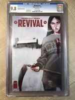 REVIVAL #1 JENNY FRISON PHANTOM BLOODY VARIANT Horror Movie Image Comics CGC 9.8
