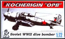 Unicraft Models 1/72 KOCHERIGIN OPG Soviet WWII Prototype Dive Bomber