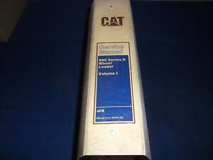 CAT CATERPILLAR 990 SERIES II WHEEL LOADER SERVICE SHOP REPAIR BOOK MANUAL 4FR
