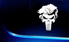 New Listingtrump Punisher Skull Decal Sticker Maga America First Donald President Usa 2nd
