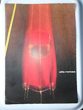 ALFA ROMEO SPRINT SPECIALE BROCHURE FOLDER  2600  ROAD TEST 1962 HISTORY OF ALFA