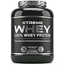 Proteine xcorextreme100% whey protein 2kg crescita muscolare mantenimento massa