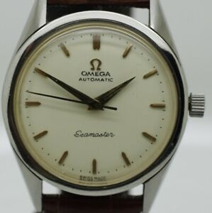 STUNNING MEN'S OMEGA SEAMASTER AUTOMATIC CAL,591 St/STEEL1980 VINTAGE WATCH