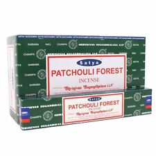 Satya Saibaba bNag Champa Incense Sticks Super Hit Patchouli Forest Sandalwood