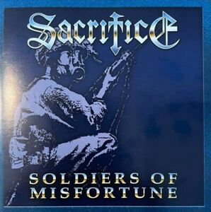 SACRIFICE – Soldiers of Misfortune (NEW*CAN THRASH METAL CLASSIC 1990*DCD + DEMO