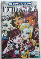 New Monster High #0 Fcbd 2017