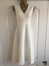 Ladies Stunning French Connection Off White Dress Size 10 *New With Tags*