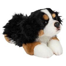 Bernese Mountain Dog Black and Tan 10 inch Plush Fabric Stuffed Animal Toy