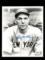 Bill Dickey PSA DNA Coa Signed 8x10 Photo Autograph