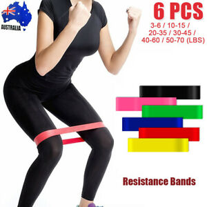 Resistance Band Loop Set Gym Fitness Exercise Training Booty Workout Bands Yoga