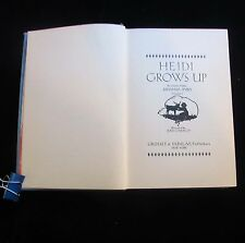 Heidi Grows Up ~ Charles Tritton ~ Johanna Spyri's Translator ~ 1938 ~ Coquillot