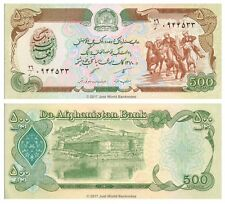 Afganistán 500 afganos 1991 P-60c Billetes Unc