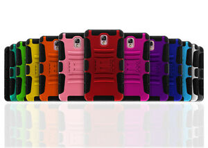 Rugged Kickstand 2 in 1 Hybrid Armor Phone Case for Galaxy S5 + Belt Clip