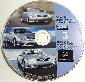 2000 2001 2002 2003 2004 CLK55 CLK500 CLK430 CLK320 Navigation CD #3 N Central