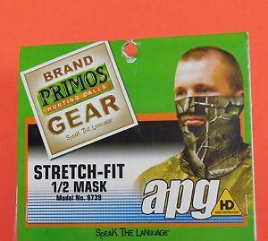 PRIMOS STRETCH FIT 1/2 MASK REALTREE APG HD