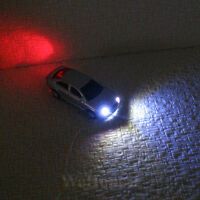 10 Model Lighted Cars OO gauge 1:76 with 12V LEDs lights motion your layouts