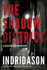 The Shadow District,Arnaldur Indridason, Victoria Cribb