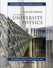 2-3: Student Solutions Manual for University Physics Vols 2 and 3