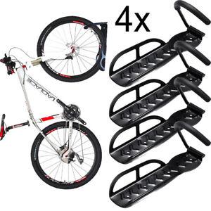 4x Fahrradständer Fahrradhaken Haken Wandhalter Fahrradzubehör Halter Ständer DE