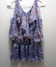 FOREVER 21 V Neck With Ruffles Size SP