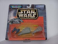 Galoob Micro machines Star Wars Rebel blockade Runner, Tie-Interceptor, ISD 1997