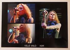 HIM *VILLE VALO* large colour collage photo print