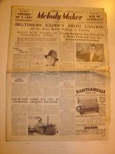 MELODY MAKER 1935 AUGUST 24 CLAUDE BAMPTON RADIO TURIN CUNARDER SCYTHIA