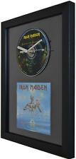 Iron Maiden - Seventh Son Of A Seventh Son  - Framed CD Clock - Special Gift