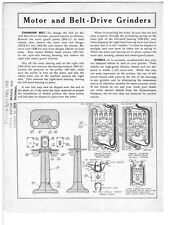 Delta Rockwell Motor and Belt-Drive Grinders Instructions