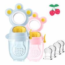 Orange + Pink Lola Kids Fruchtsauger für Babys //// 2 Fruchtsauger mit 6