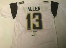 Keenan Allen Autographed Los Angeles Chargers White Jersey Beckett COA