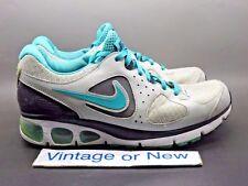 Women's Nike Air Max Turbulence+ 16 Grey Turquoise Black Running sz 7.5
