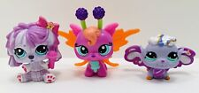 Littlest Pet Shop Figures Glowing Fairy 2728 Pet Fairy 2710 Komondor 2717 Lot