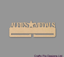 Personalised Medal Holder - 4mm MDF Wooden Craft Blank