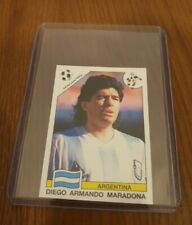 Diego Maradona World Cup Story Italia 90 Argentina Sticker Fantastic Condition