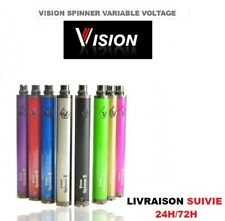 Batterie Vision Spinner 2 1650 mah+Chargeur Cigarette Electronique E-Cigarette