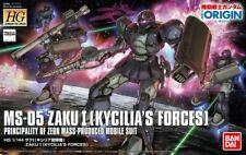 Bandai Gundam HG 1/144 MS-05 Zaku I Kycilia Forces