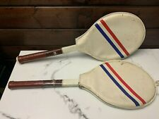 Vintage Marshal Finalist Tennis Racquets - Retro Collectible Pairs