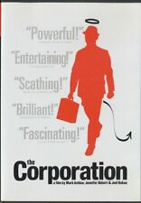 The Corporation (DVD, 2005, Canadian, Widescreen) DOCUMENTARY