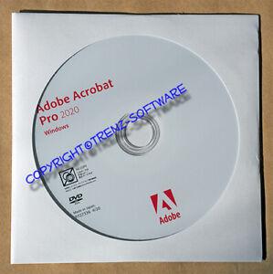 Adobe Acrobat Pro 2020 Windows deutsch Kaufversion mit Orginal-DVD - MwSt