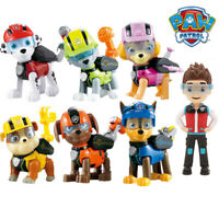 7pcs Paw Patrol Dog Puppy Rescue Figure Action Toys Figurine Character Gifts Set