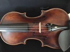 Fine Old John Juzek Violin - Dated 1922 Prague Czechoslovakia -Diamond pegs