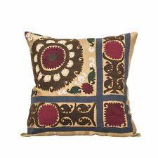 """18"""" x 18"""" Pillow Cover Suzani Pillow Cover Vintage Fast Shipment With UPS 07553"""