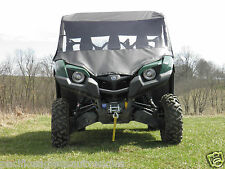 "FULL CAB Enclosure VINYL Windshield ~ YAMAHA ""VIKING"" ~ New ~ UTV ~ 3 Colors"