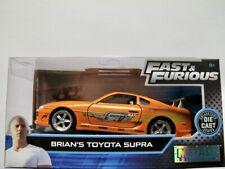 "Brian's 1995 Toyota Supra  orange  ""Fast & Furious""  / Jada 1:32"