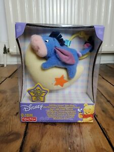 Disney Eeyore Winnie the Pooh Soothing Sounds Take Along - Fisher Price 2002