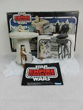 "Vintage Star Wars ESB 1980 Turret & Probot w/Box ""Complete"" w/3-Figures *Nice*"
